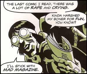 Cassanova Doesn't Like Comic Books