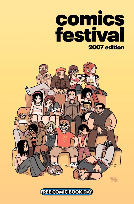 Comics Festival 2007 - Mal Cover