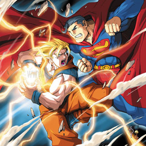 Goku vs. Superman - UDON Comics for Wizard