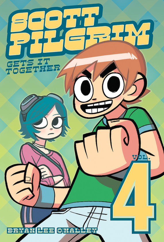 Scott Pilgrim Volume 4 Cover
