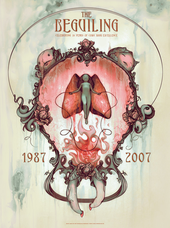Beguiling 20th Anniversary Print, by James Jean
