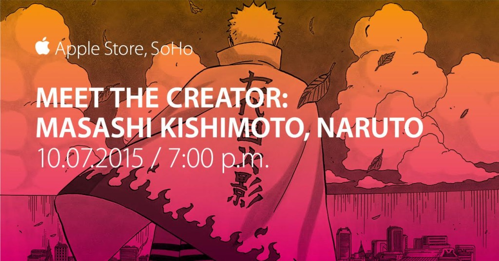 MasashiKishimoto-AppleStoreSoho-Oct7th-7PM-FacebookTwitter