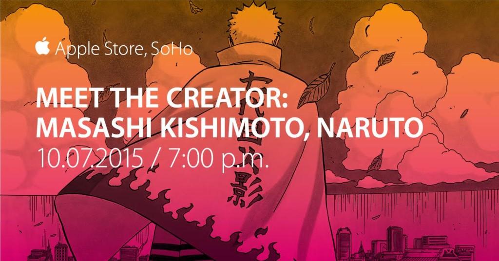 MasashiKishimoto-AppleStoreSoho-Oct7th-7PM-FacebookTwitter