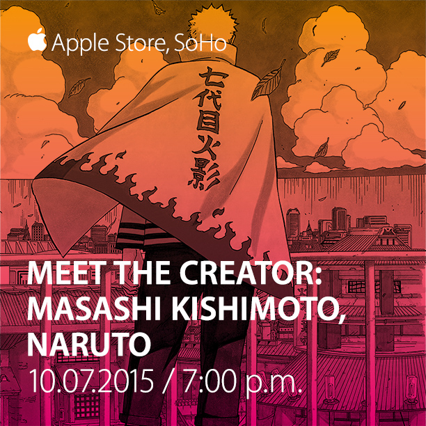 MasashiKishimoto-AppleStoreSoho-Oct7th-7PM-Instagram
